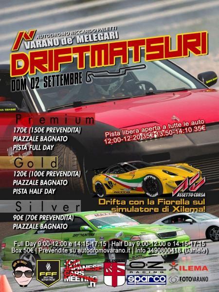 Drift Matsuri Varano de' Melegari