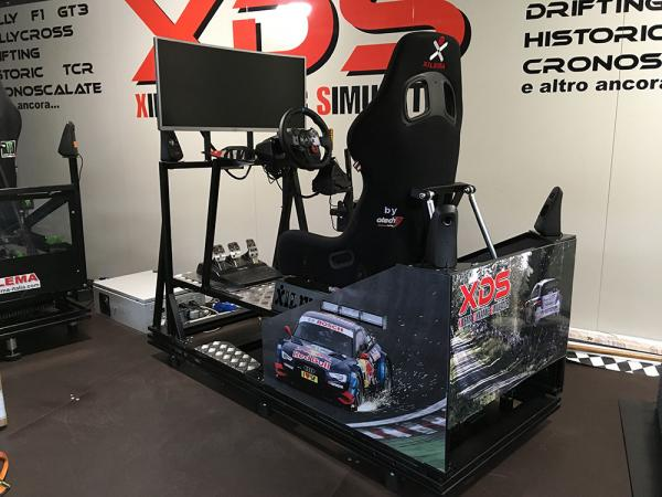 Panoramica simulatore 4dof professioanale XDS